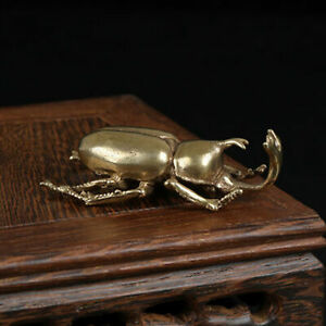 NEW Solid Brass Insect Figurine Small Statue House Ornament Animal Figurine