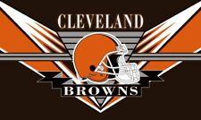 Cleveland Browns Flag Lg 3X5 Man Cave Banner No Drop Ship Fast Ship USA Seller