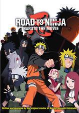 Naruto Shippuden the Movie: Road to Ninja (DVD,2014)