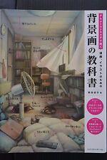 JAPAN Photoshop de Kaku Manga,Illust no Tameno Haikeiga no Kyoukasho (Book)