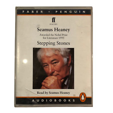 SEAMUS HEANEY Stepping Stones Sealed Audio Cassette  Poetry Selection BNIB 1994