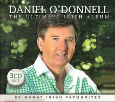 DANIEL O'DONNELL THE ULTIMATE IRISH ALBUM 3 CD Irish Edition Featuring 60 songs
