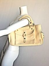 Celine Tote Boogie Cream/Yelllow Leather Handbag L=35cm, H=17cm, W=14cm