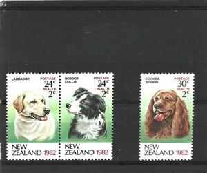 New Zealand 1982 Health Set MNH