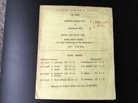 ILKESTON AND HEANOR BOYS V SUNDERLAND BOYS ENGLISH SCHOOLS TROPHY 5TH ROUND 1963