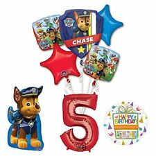 The Ultimate Paw Patrol 5th Birthday Party Supplies and Balloon Decorations