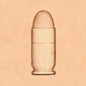 Ivan 2D Leather Stamp - Bullet (8691-00)