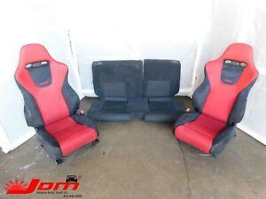 JDM 2002-2005 HONDA CIVIC EP3 TYPE R RHD RECARO SEATS