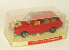 1970`s Guisval  Renault 12 TS Jefe Bomberos   -  Made in Spain