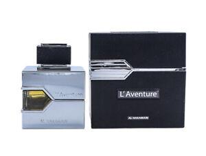 L'Aventure by Al Haramain for Men 3.3 / 3.4 oz Cologne for Men New In Box
