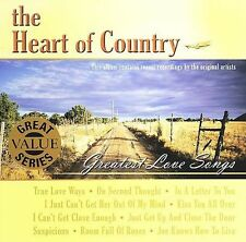 ~COVER ART MISSING~ Various Artists CD The Heart of Country: Greatest Love Songs