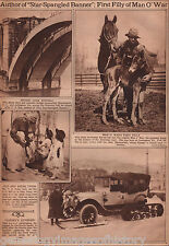 Man o' War and First Filly Foal in 1922 -89 years old