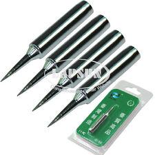 5pcs/Lot Iron Point Tip For Hakko Soldering Rework Atten Quick Station 900M-T-I