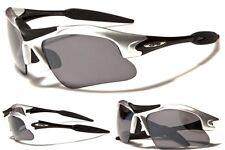 New X Loop Sports Softball/Baseball Men's Silver 100% UV400 Sunglasses
