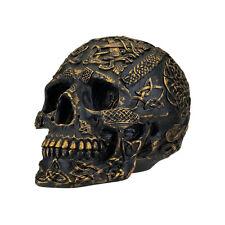 Celtic Knot Art Passage of Life Human Skull Sculpture
