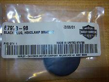 HARLEY NOS HEADLIGHT BRACKET HOUSING BLACK HOLE PLUG 98-03 SPORTSTER 67973-98