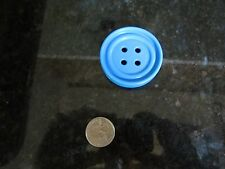 Vintage Little Fisher Price sewing kit fun food blue kitchen toy button clothing
