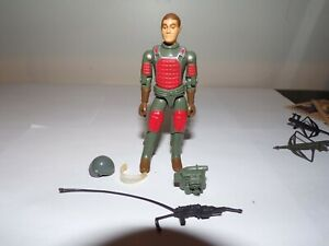 MINT 1982 HASBRO GI JOE FLASH (v1) ACTION FIGURE STRAIGHT ARM WITH ACCESSORIES