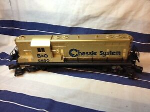 Lionel 6-8359 Chessie General Motors Special Anniversary W Box GP-7 Locomotive