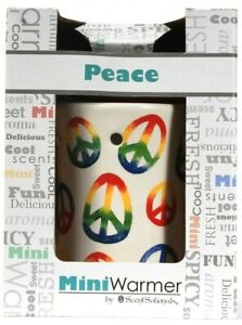 1 Count ScentSationals Mini Warmer Peace Safe Clean Heat Source With 20w Bulb