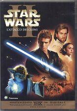 Star Wars: Episodio II. L'attacco dei cloni - DVD EDITORIALE OTTIME CONDIZIONI