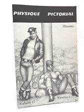 UNCIRCULATED PHYSIQUE PICTORIAL MIZER TOM FINLAND AMG GAY BEEFCAKE VOL.17 #1