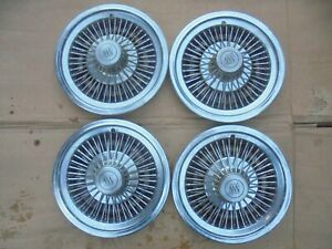 "73 74 75 76 77 78 BUICK 14"" WIRE WHEEL COVERS APOLLO SKYLARK REGAL CENTURY"