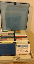 Diskettenbox für 3.5 Zoll Disks (no key & 8 Register + 80 Disks) Amiga BOEDER