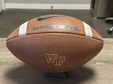 Wake Forest University Demon Deacons Game / Prac. Used Nike Vapor Elite Football