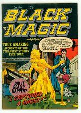 BLACK MAGIC V2 #1 VG/FN 5.0 JOE SIMON JACK KIRBY ART PRE-CODE HORROR COMIC 1951