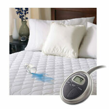 Sunbeam SelectTouch Water-Resistant Quilted Electric Heated Mattress Pad