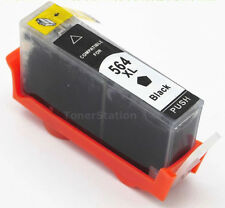 4 BLACK Ink Cartridge for HP 564XL Photosmart 5510 5520 B109a B110a Deskjet 3520