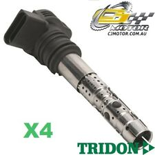 TRIDON IGNITION COIL x4 FOR Audi  A4 01/01-01/03, 4, 1.8L AVJ
