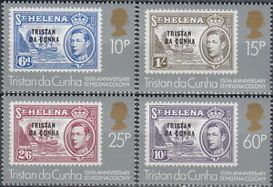 Tristan da Cunha 150th Ann St Helena Colony 1984 MNH-5 Euro
