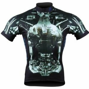 Brainstorm Gear Men's Terminator Unstoppable Exoskeleton Cycling Jersey