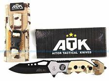 NAVAJA AITOR ATK officer TACTICAL HOJA 8  CMS KNIVES KNIFE ATK 16412 P04 LMJK