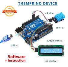Themprino Temperature + Humidity - Neuheit! Arduino UNO R3 + LCD IIC I2C + DHT11