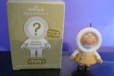 "2011 Hallmark ""FROSTY MYSTERY ORNAMENT - TOYMAKER SANTA"""