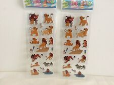 5 sheets The Lion King stickers party favours bag fillers