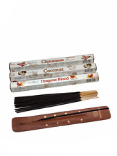 Vedmantra® Stamford Premium Hex Exotic Incense Sticks + Vedmantra Incense Holder