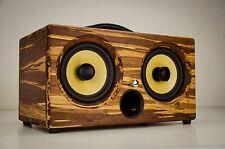 200Watts Bamboo Wireless Speaker Portable Thodio iBox XC Tiger Wifi Bluetooth