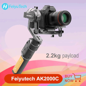 FeiyuTech Official AK2000C 3-Axis Stabilizer Gimbal for DSLR Camera Canon Sony