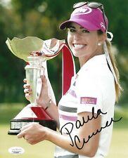 Paula Creamer signed LPGA Golf 8x10 photo autographed USA JSA