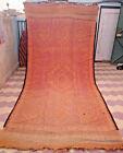 Moroccan Vintage Rug Bohemian Boujaad Geometric Carpet Boujad Wool 6x12 Rare Rug