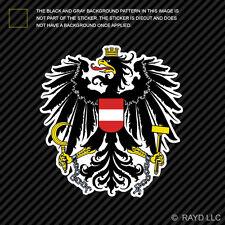 Austrian Coat of Arms Sticker Decal Self Adhesive Vinyl Austria flag AUT AT