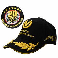 NEW Black F1 FORMULA ONE 1 MICHAEL SCHUMACHER HAT 20 YEARS CHAMPION BASEBALL CAP