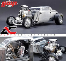 "PRESALE GMP 18880 1:18 1934 BLOWN ALTERED COUPE ""RAW STEEL"""