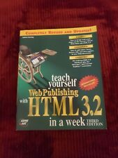 TEACH YOURSELF WEB PUBLISHING WITH HTML 3.2