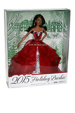 Barbie 2015 HOLIDAY BARBIE AA Collector Doll