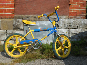 "Vintage 1982 Free Spirit FS300 bmx 20"" bike Troxel-Trakmaster RARE color Murray"